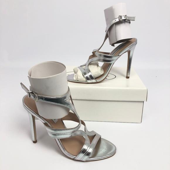 11df192eeb8 Steve Madden Womens Sidney Dress Sandals Silver Le Boutique